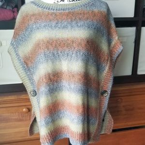 The Limited Wool Blend Poncho